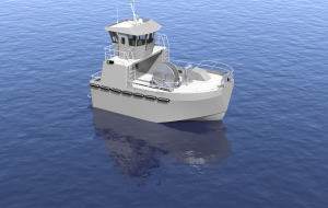 EBDG and Cummins collaborated to design this 32' x 20' ultra-shallow, triple jet gillnetter specifically for Bristol Bay.  The vessel can make 20 knots with a full load of 20,000 pounds of salmon.