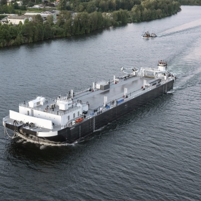 114,000 BBL Spill Response Barge