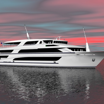 213' Passenger Dinner Cruise Vessel
