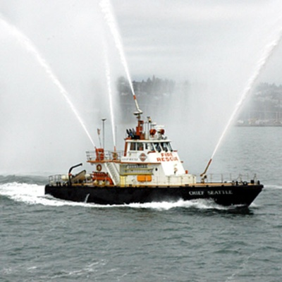 96' Fireboat CHIEF SEATTLE