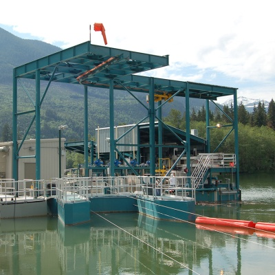 Upper Baker Lake Floating Surface Collector